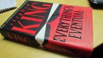 King, Stephen - Everything`s Eventual (cjs) Stephen King (Engelstalig) 0340770732 Hardcover met omslag  FIRST PRINT Hodder & Stougton ALS NIEUW / omslag en boek in prachtige staat!