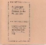 Colverson, Tom (ed.) | Hall, Dennis (design) - A Catalogue of Fine Press Printers in the British Isles