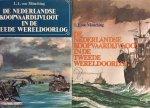 Münching, L. L. von - De Nederlandse koopvaardijvloot in de Tweede Wereldoorlog. De lotgevallen van de Nederlandse koopvaardijschepen en hun bemanning. 2 delen compleet.