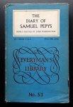 Pepys, Samuel (Edited By John Warrington) - The Diary of Samuel Pepys, Volume One