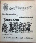 E.J. van den Broecke.de Man - Kinderversjes en volksliederen uit Zeeland