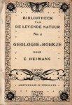 E. Heimans - Geologie-Boekje, een A-B-C voor de beginnende amateur