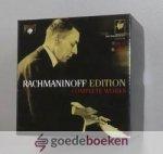 Rachmaninoff, Sergei Vasilievich - Rachmaninoff edition Complete Works --- Cdbox met 28 cd's en cd-rom