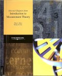 Allen J. Mary  en Wendy M. Yen - Introduction to Measurement Theory