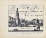 Schenk, Petrus - 100 Afbeeldinge der voornaamste gebouwen van Amsterdam