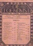 Sleeswijk prf. dr. J.G. Steinmetz prof. Mr. S.R. e.a. (redactie) (ds2001) - De Toekomst, weekblad voor Nederland, complete jaargang 1918 ( muv no.2)
