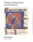SOTHEBY'S - LONDON. - Western Manuscripts and Miniatures. Including Medieval Books in Hebrew and including a Missal from the Diocese of Soissons, c. 1265, the property of J.A. le Prince de Ligne.