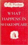 Purdom, C.B. (ds1380) - What happens in Shakespeare. A New Interpretation