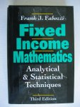 Fabozzi, Frank J. - Fixed Income Mathematics - Analytical & Statistical Techniques
