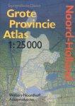 Topografische Dienst Emmen - Grote Provincie Atlas Noord-Holland (1: 25.000)