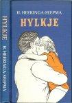 Heeringa Seepma Untwerp omslach Bram Buruma  en Printe by Friesch Dagblad - Hylkje is in boek oer in famke