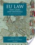 Craig, Paul - Eu Law / Text, Cases and Materials