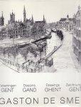 De Smet, Gaston (ds1244) - Gent, Gand, Ghent,  Tekeningen, Dessins, Drawings, Zeichnungen