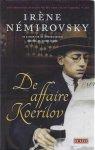 Némirovsky, Irène - De affaire Koerilov