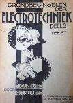 Cazemier, R. / Sluijter, W.J. - Grondbeginselen der electrotechniek. Deel 2. Tekst