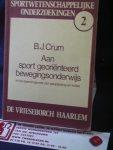 Crum, B.J. - Aan sport georiënteerd bewegingsonderwijs in het spanningsveld van aanpassing en kritiek