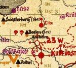 AAA div - kaart Bodenorganisation Grossraum-Nachtjagd/ Luftflotte Reich 1944