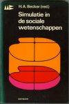 Becker, H.A. - Simulatie in de sociale wetenschappen