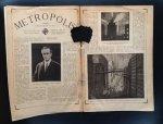 Harbou, Thea von (scenario) Lang, Fritz (produktie) - METROPOLIS. De meest fantastische film. Filmstar edition Nr. 17. 1 November 1927.