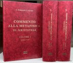 Tommaso d´Aquino ( Thomas d'Aquin ). - Commento alla metafisica di Aristotele Vol. 1: Libri 1-4. Vol. 2: Libri 5-8 & Vol. 3: Libri 9-12 (3 volumes).