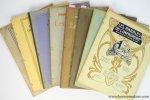 Leempoel (publ.) - Les annales de l'imprimerie. Revue belge de l'industrie du livre. Sous les auspices du Cercle d'Études Typographiques de Bruxelles. Xe Année, 1911, en 12 livraisons.