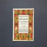 (Theo Nieuwenhuis) – Scheltema & Holtema's Boekhandel - Verschenen: Een Liefde door L. van Deyssel […].