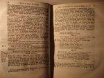 Johannes Plevier - Johannes Plevier - De Handelingen der Heilige H. Apostelen - 1725/1729
