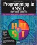 kochan, stephen g. - programming in ANSI