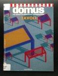Giovanna Mazzocchi e.a. - I QUADERNI DOMUS  Tavoli 100 oggetti di produzione contemporanea