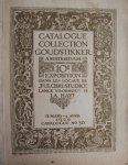 """- Catalogue collection Goudstikker Amsterdam. 10e exposition dans les locaux de """"Pulchri Studio""""  La Haye. 13 mars--4 avril 1926. Catalogue No 30"""