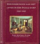Knobel Fluek  Toby  .. Nederlandse vertaling Mea Flothuis  .. Typografie  Wim ten Brinke  BNO - Herinneringen aan het leven in een Pools dorp, 1930-1949 ..  Schilderijen  - Tekeningen  en Tekst