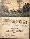 Sartorio, Arnoldo (Hrsg.): - Washington Post. Fantasie-Marsch nach Amerikanischen Melodien von J.P. Sousa. Für das Pianoforte