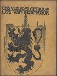 Hermans, Ward   / Van overloop, / Frans Ulrichs / J. Horemans / Pieter Pas / L van Leuven. - Ons verleden getrouw, los van Frankrijk. Negende Vlaamsche Almanak