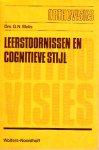 Drs N.G. Melis - Orthovisies 13: Leerstoornissen en cognitieve stijl