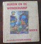 Hildebrand, A.D. en Nieuwenhoven, Wim van ills. - Aladin en de wonderlamp Boek 9