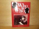 Keegan, J. ( redactie ) - Who is who encyclopedie van markante figuren uit de Tweede Wereldoorlog