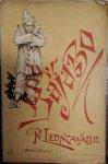 Leoncavallo, R.: - [Libretto] Der Bajazzo [Pagliacci]. Drama in zwei Akten und einem Prolog... duetsch von Ludwig Hartmann