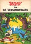 Uderzo - Asterix en de Kerncentrales, 48 pag. geniete softcover, illegale parodie uit 1982, goede staat (minieme beschadiging voorkant)