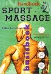 Snellenberg, Willem - Basisboek Handboek Sportmassage  (Blessurepreventie / Anatomie / Specifiek Gedeelte Fysiologie), 391 pag. grote paperback, goede staat (vouwtje hoek achterkant)