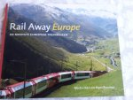 Kers, Martin en Bouman, Hans - Rail Away Europe / de mooiste Europese treinreizen