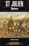 Keech, Graham - Battleground Europe - St. Julien, Ypres, 144 pag. paperback, gave staat