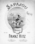 Hitz, Franz: - Sapajou Galop pour piano. Op: 214
