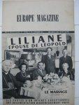 - Europe Magazine. Liliane épouse de Léopold. Première partie: Le Mariage (11 septembre 1941).