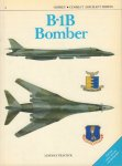 Peacock, Lindsay - B-1B Bomber, Osprey - Combat Aircraft Series 08, 48 pag. paperback, zeer goede staat