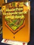 Jones, Emrys - Winkler Prins Encyclopedie van de Aardrijkskunde 1 t/m 4 compleet