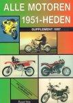 Vos, Ruud - Alle Motoren 1951 - Heden, Supplement 1997 (inklusief een aantal rij-impressies), 48 pag. paperback, gave staat
