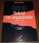 B. Veen (Red.) - Beleid en organisatie / druk 1