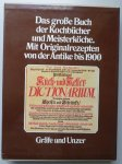 Seifert, T. & U. Sametschek - Die Kochkunst in zwei Jahrtausenden. Das grosse Buch der Kochbücher und Meisterköche. Mit Originalrezepten von der Antike bis 1900.