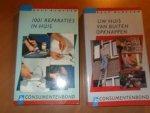 Jacobsen, A.M. - 1001 reparaties in huis + Uw huis van buiten opknappen