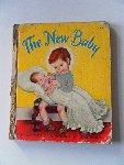 Brun, Marguerite en Hurd, E.T. bewerking: Schmidt, Annie M.G. Illustrator : Gergely, Tibor - A Little Golden Book. The New Baby